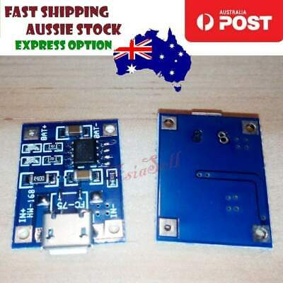 2pcs TP4056 Lithium Battery 18650 Charger Micro USB 5V 1A Automatic Protection