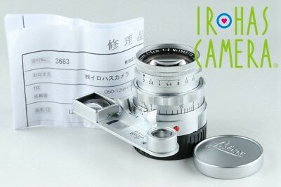 Leica Leitz Summicron 50mm F/2 Lens for Leica M #20095 C1