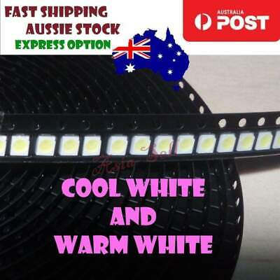 100pcs SMD LED SMD Backlight Ultra Bright 3528 1W Cool White Warm White LCD