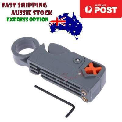 RG58 Coaxial Cable Stripper Cutter Tool RG-58 59 62 6 6QS 3C 4C 5C Network Tool
