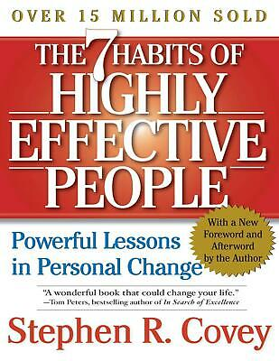 The 7 Habits of Highly Effective People Stephen R. Covey (E-B0K&AUDI0||E-MAILED