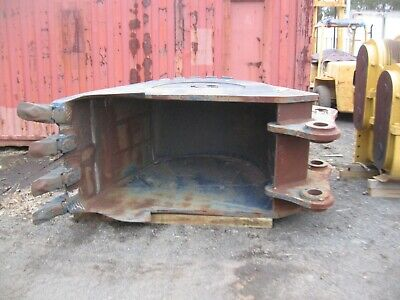 GP Heavy Duty 3 Yard Excavator Bucket With Ripper Shanks,Removable