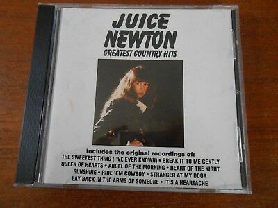 Juice Newton Greatest Country Hits by Juice Newton (CD, Curb) BOGO