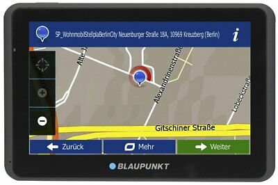 "Blaupunkt TravelPilot 55 ACTIVE Truck / Camping EU Navigationssystem  5"" Display"