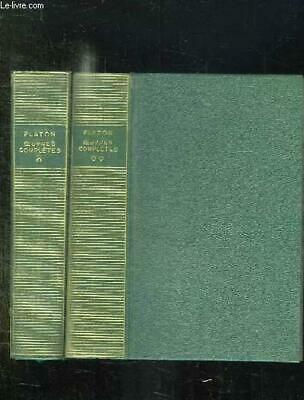 2 TOMES. OEUVRES COMPLETES. PLATON. Occasion Livre