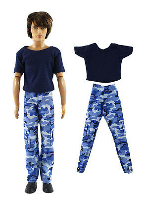 Fashion Outfits/Clothes Top+pants For 12 inch Doll A03U