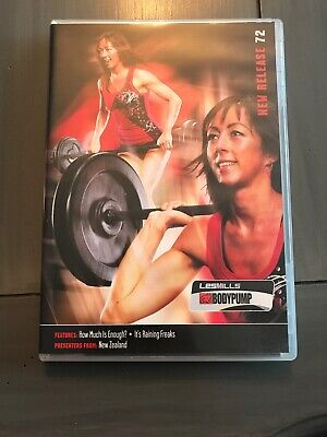 Les Mills Body Pump 72 DVD/CD/Choreography Notes BodyPump