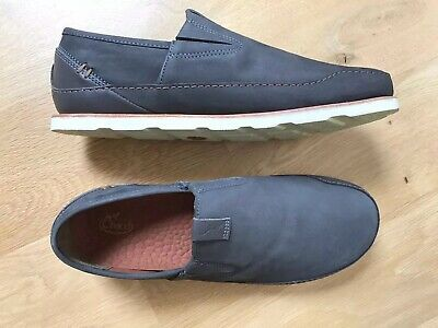 7ca2a11ffbcd CHACO MENS SIZE 9.5 Gull Grey Slip On Loafers Casual Shoes -  22.24 ...