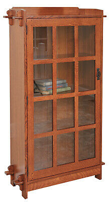 Mission Arts and Crafts | Stickley Style | Single Door Bookcase | Made to Order!