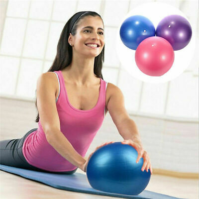 Pro Small Exercise Ball for Abdominal Workouts Yoga Pilates At-Home Workouts New