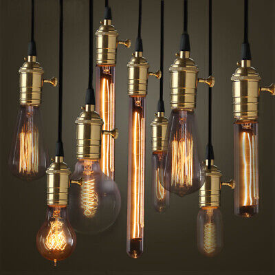 Vintage Industrial Retro Edison LED Bulb Light Lamp E27 110/220V home decor 40W