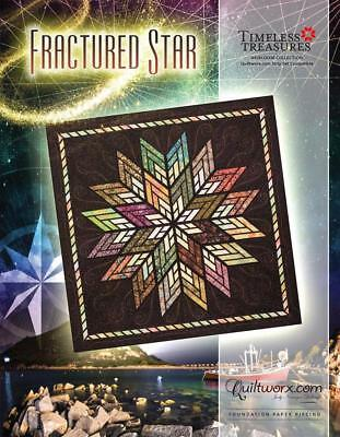 Fractured Star Foundation Paper Piece Judy Niemeyer Quilt Pattern