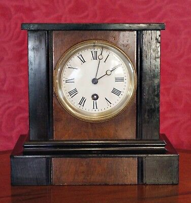 Antique Art Deco French 8-Day Mantel Clock