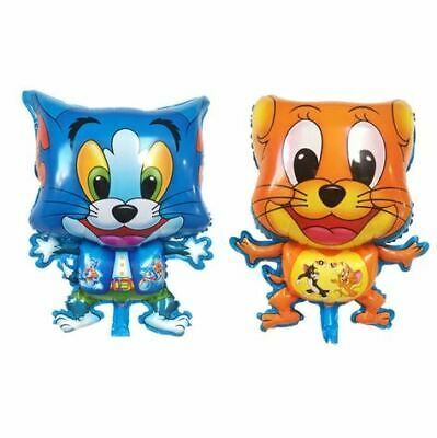 Tom & Jerry Walking Pet Mouse Cat Foil Balloon Birthday Party Kids Gift Toy!