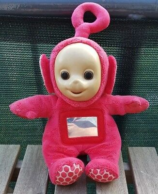 Vintage TOMY Teletubbies PO musical rattler 1996 A0079