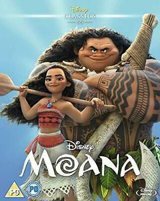 Moana [Blu-ray] [2016], New, DVD, FREE & Fast Delivery