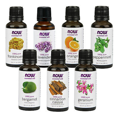 NOW Foods Essential Oil Varieties, Support for Health Beauty & Mood, 1 oz. Each