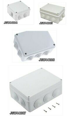 Gewiss Junction box IP55  sizes available - Free Fast Post
