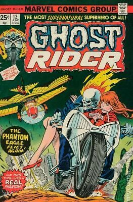 Ghost Rider (1st Series) #12 1975 FN Stock Image