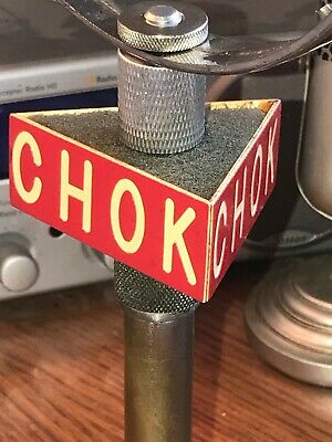 Vintage CHOK Radio Station Microphone Flag - 1940's-50's - Canada - FLAG ONLY