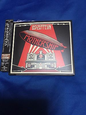 Led Zeppelin Mothership Promo WPCR17509/10 with OBI Jimmy Page Robert Plant