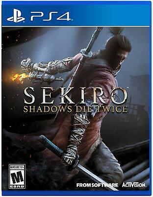 NEW Sekiro: Shadows Die Twice (for Sony PlayStation 4/PS4) FACTORY SEALED!