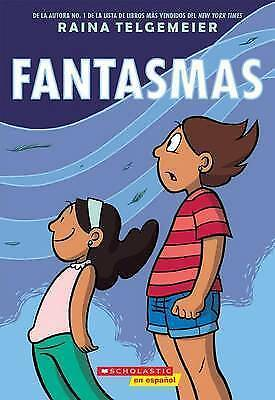 Fantasmas (Ghosts) by Telgemeier, Raina, NEW Book, (Paperback) FREE & Fast Deliv