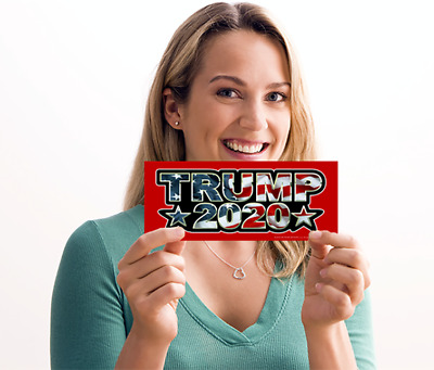 Trump Bumper Sticker - In Stock & Ready To Ship | Made In The Good Old Usa!