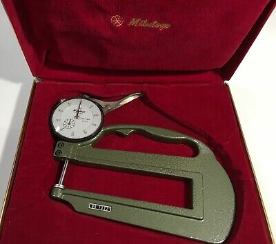 mitutoyo aluminum dial face  101076  new  part 0 to 50 59 to 0 2 inch x 1.29