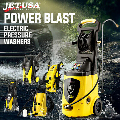 JET-USA Pressure Washer Water Power Washer Electric Jet Wash Hose Gurney Sprayer
