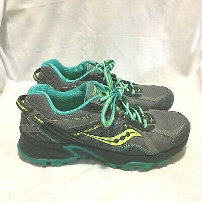buy popular f5ae4 6821c Saucony Excursion Tr 7 Trail Hiking Running Shoes Multi Color ( Size 8 )  Women S