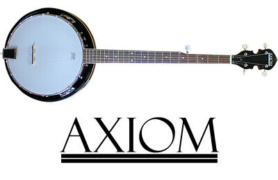 Axiom Beginner Banjo - 5 String Banjo - Quality Student Banjo - 2 Year Warranty