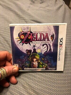 The Legend of Zelda: Majora's Mask 3D (Nintendo 3DS, 2015) - SEALED NEW
