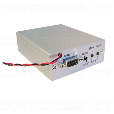 Video to RGB Converter with RGB By-Pass Switch   (3 Years Warranty)  CAR-3