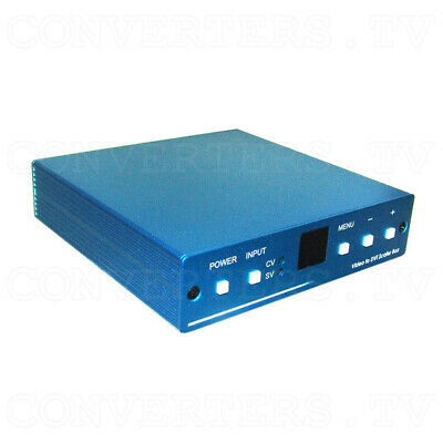 Video to DVI 1080p Scaler Box   (3 Years Warranty)  CM-1391