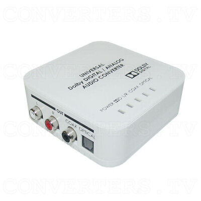 Universal Digital/Analog Audio Converter   (3 Years Warranty)  DCT-9D