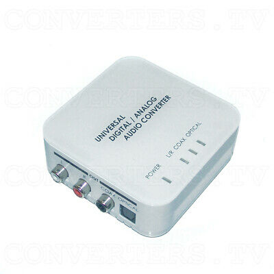 Digital to Analog Two Way Audio Converter   (3 Years Warranty)  DCT-9