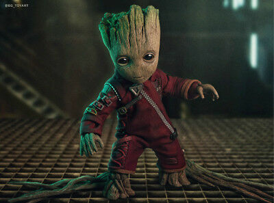 Guardians Of The Galaxy Yondu and Groot Silk Poster Wallpaper 24 X 13 inch