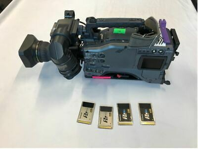 """Panasonic AG-HPX502 2/3"""" P2 Camcorder, HD Lens, P2 cards - Excellent Condition"""