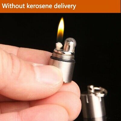 Cool Mini Kerosene Lighter Portable Keychain Compact Gas Lighter Lighters USA