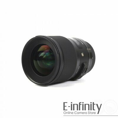 NEW Sigma 28mm f/1.4 DG HSM Art Lens for Canon EF