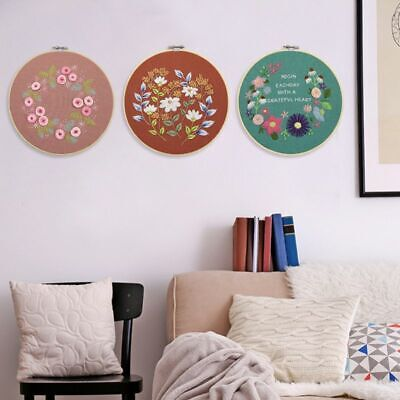 DIY Ribbons Embroidery For Beginners Practical KitsCross Stitch Set Home Decor