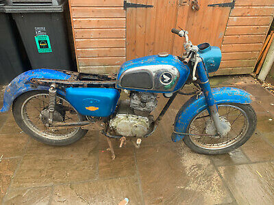 Honda CD175 1973 True Barn Find ideal project or full Resto project