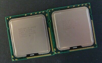 Matched Pair  Intel Xeon X5690  3.46GHz Six Cores 12MB Cache  SLBVX Processors