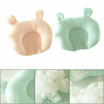 Baby Pillow Head Shaping Newborn Infant Memory Foam Pillow Organic Cotton %N