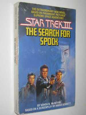 Star Trek III: The Search for Spock by VONDA N. MCINTYRE - 1984 Small PB