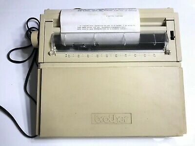 BROTHER ELECTRONIC TYPEWRITER MODEL: AX350 Works!