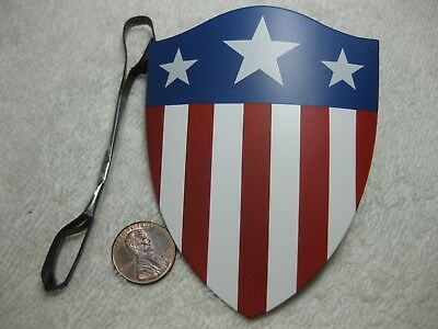 Captain America Shield  1/6 Scale Star Spangled Man MMS 205 - Hot Toys