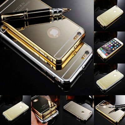 Luxury Aluminum Ultra-thin Metal Bumper Case Cover For Apple iPhone 5 5S 6 6S +
