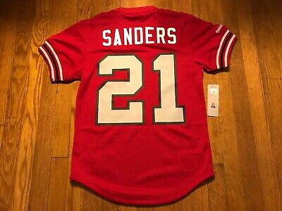 super popular d30bf aee7e MITCHELL & NESS Atlanta Falcons Deion Sanders Jersey Mens Size 2Xl Nfl  Jersey